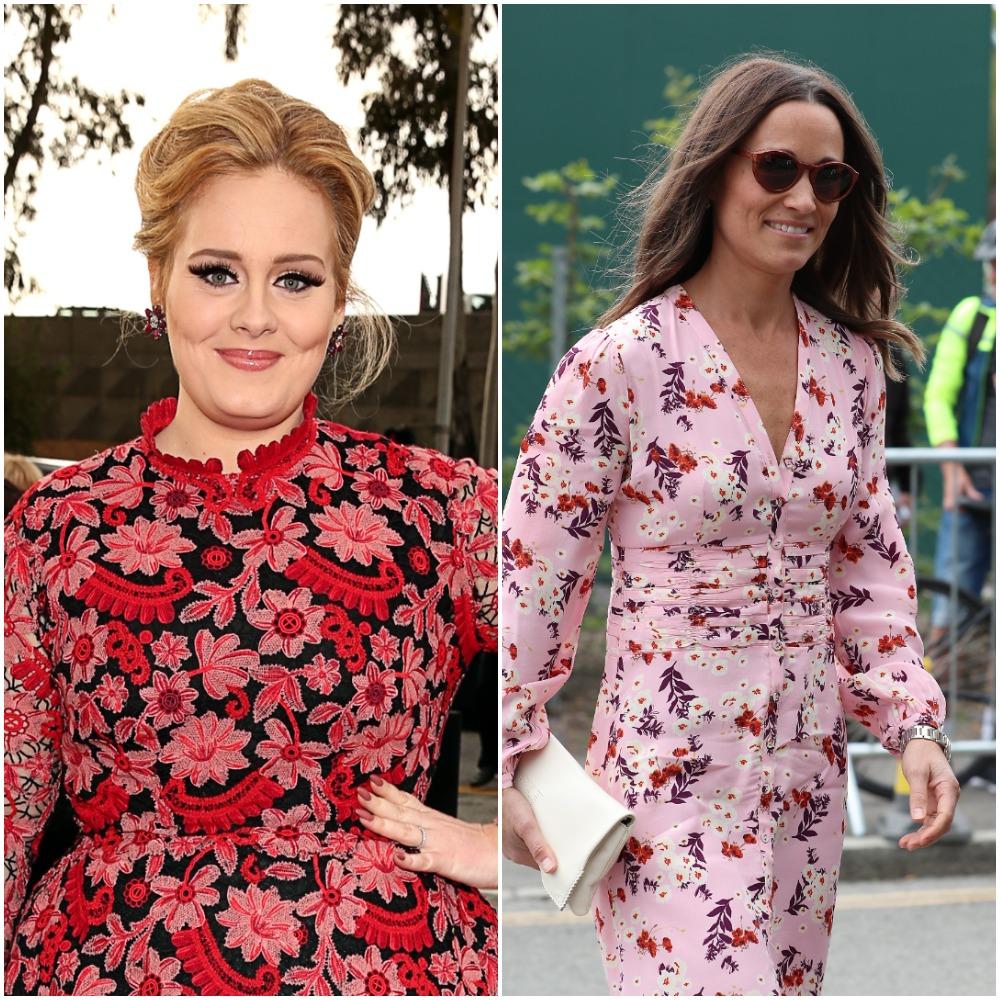 Adele; Pippa Middleton