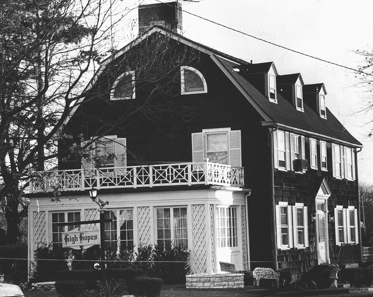 Amityville, N.Y.: Exterior of the house