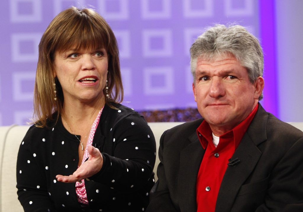 Amy Roloff and Matt Roloff appear on NBC News' 'Today'