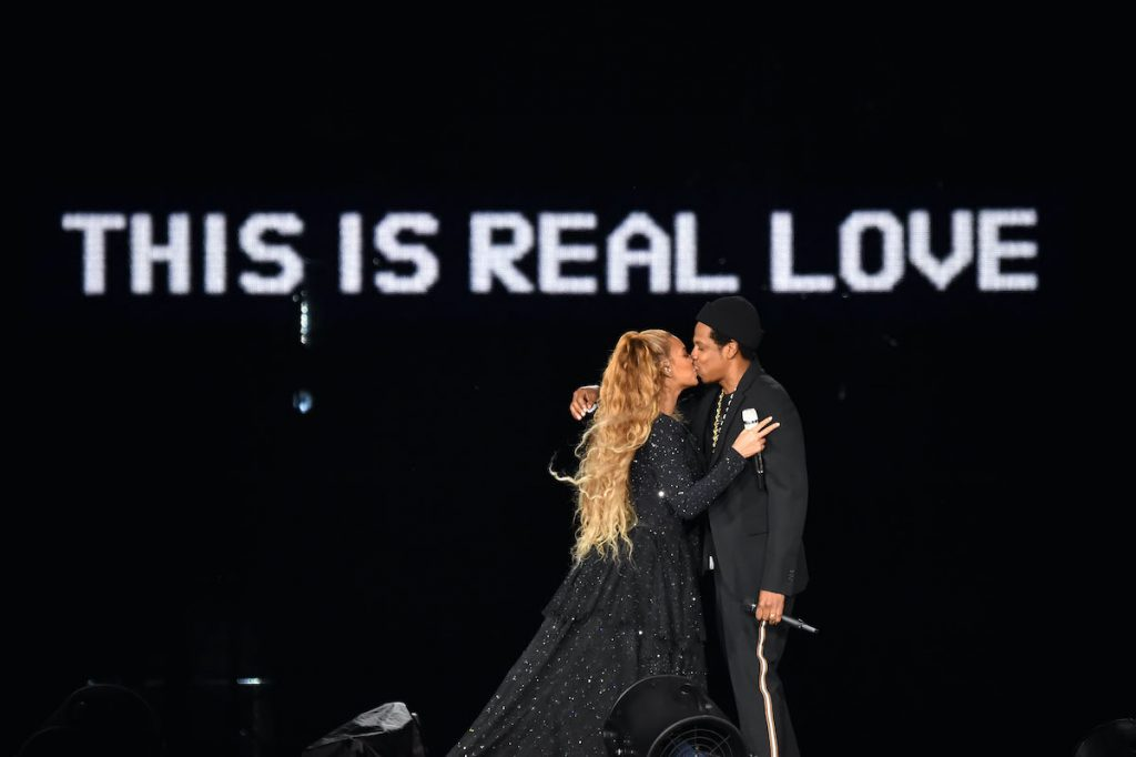 Beyoncé and Jay-Z in 2018