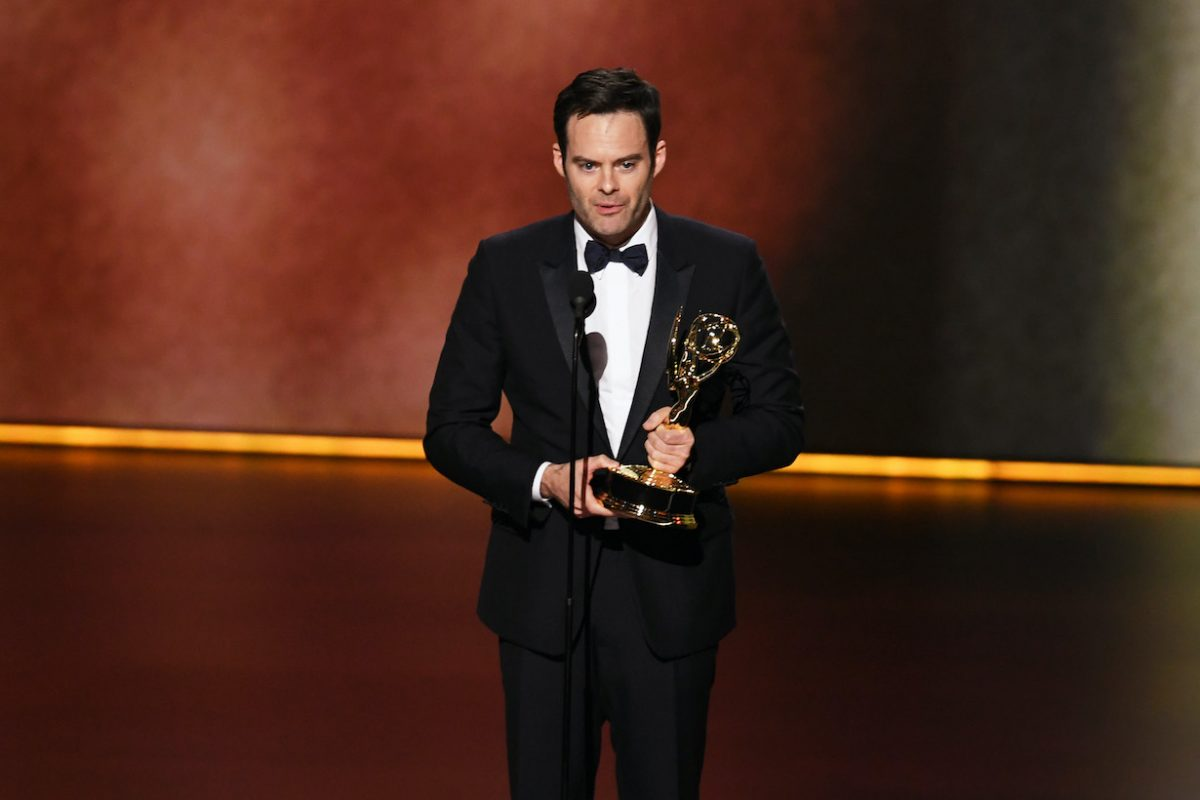 Bill Hader accepts the Outstanding Lead Actor in a Comedy Series award for 'Barry'