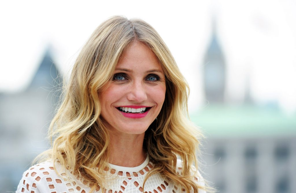 "Cameron Diaz attends a photocall for ""Sex Tape"" at Corinthia Hotel London"