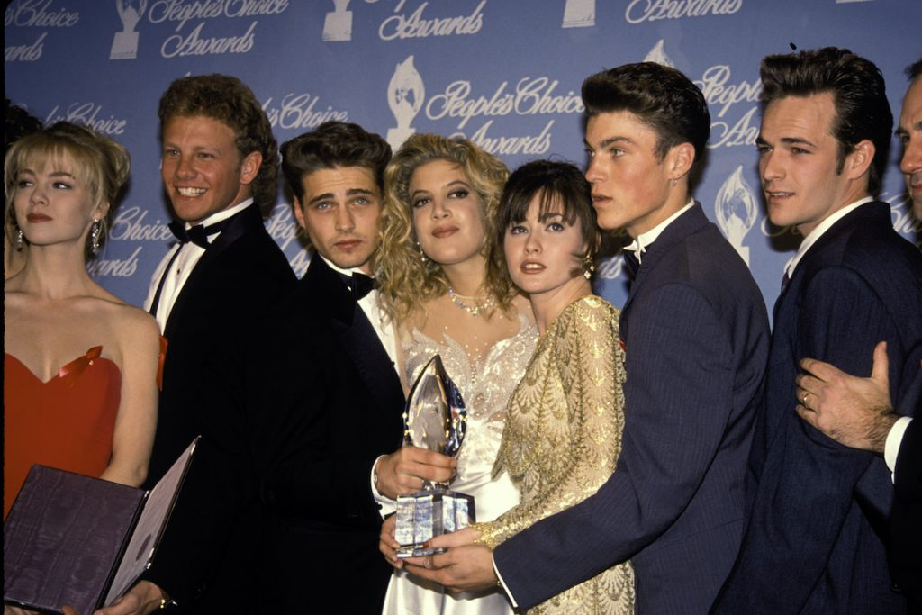 Cast of Beverly Hills 90210