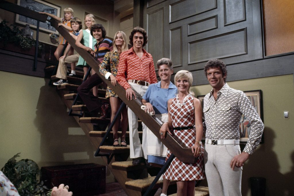 Cast of 'The Brady Bunch': Susan Olsen, Mike Lookinland, Eve Plumb, Christopher Knight, Maureen McCormick, Barry Williams, Ann B. Davis, Florence Henderson, and Robert Reed