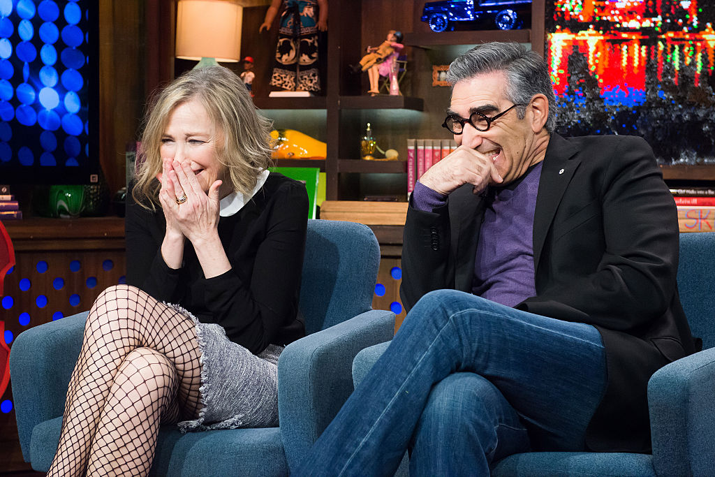 Schitt's Creek cast members Catherine O'Hara and Eugene Levy