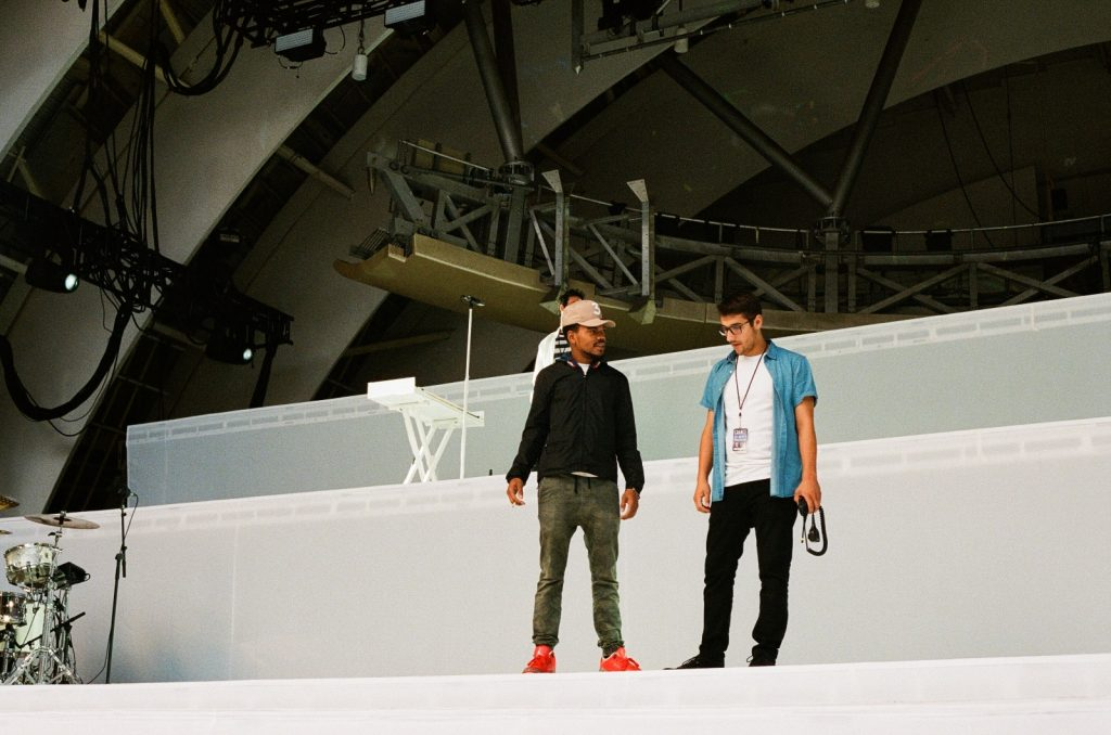 Chance The Rapper and Michael Apostolos | Steve Jennings