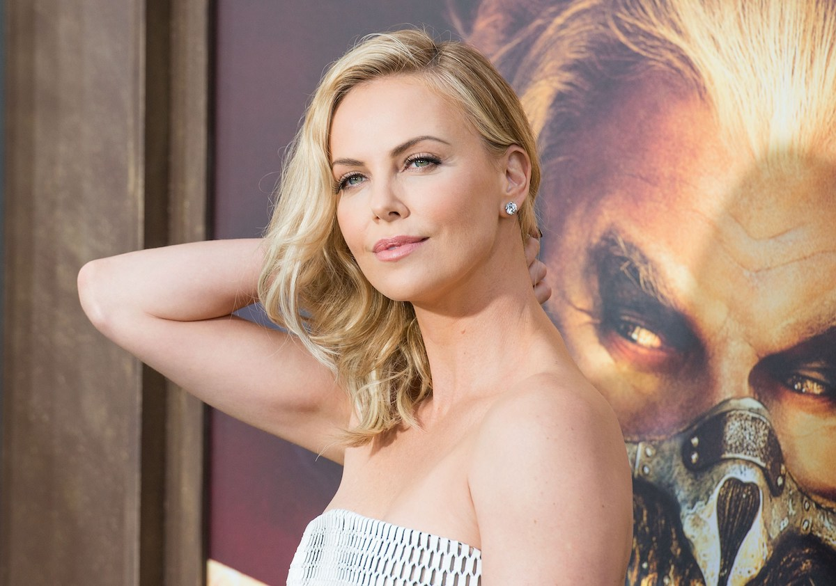 Charlize Theron at the 'Mad Max: Fury Road' premiere
