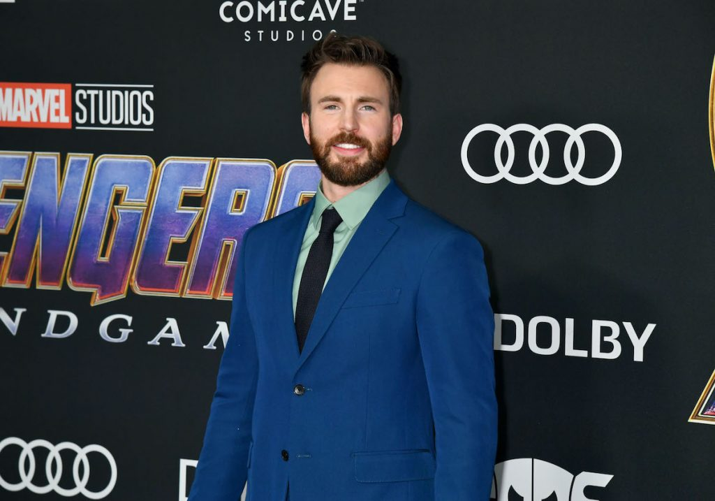 "Chris Evans attends the World Premiere of Walt Disney Studios Motion Pictures ""Avengers: Endgame"" at Los Angeles Convention Center on April 22, 2019 in Los Angeles, California"