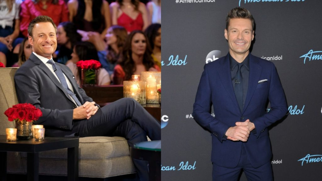 Chris Harrison from 'The Bachelor' and Ryan Seacrest from 'American Idol'