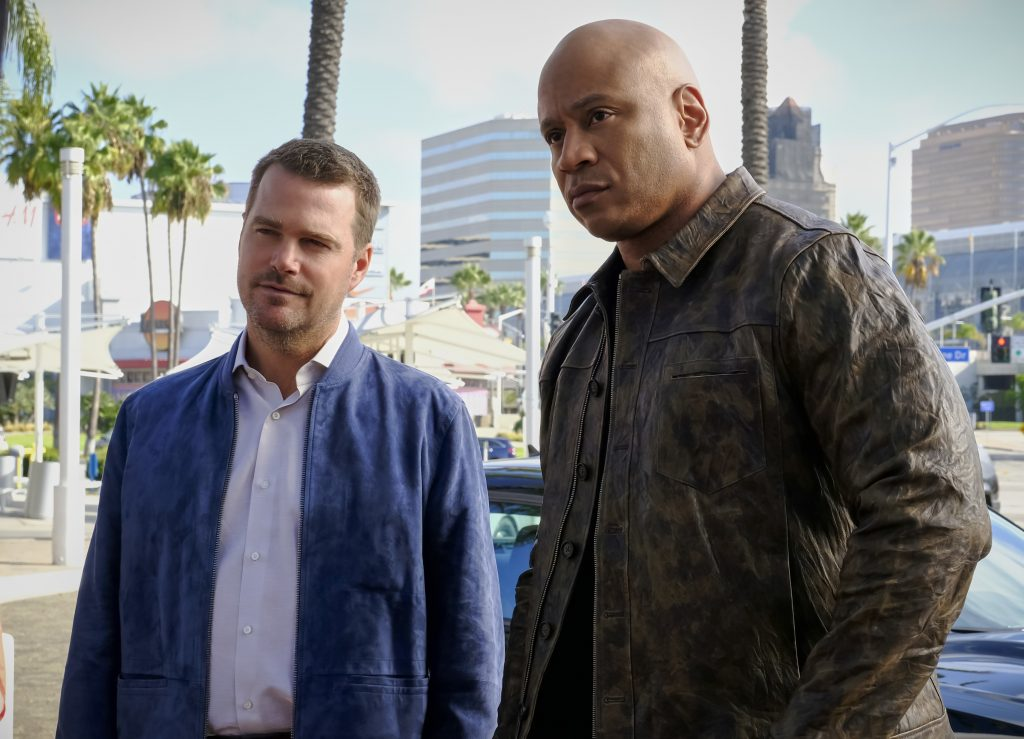 Chris O'Donnell and LL Cool J | Trae Patton/CBS via Getty Images
