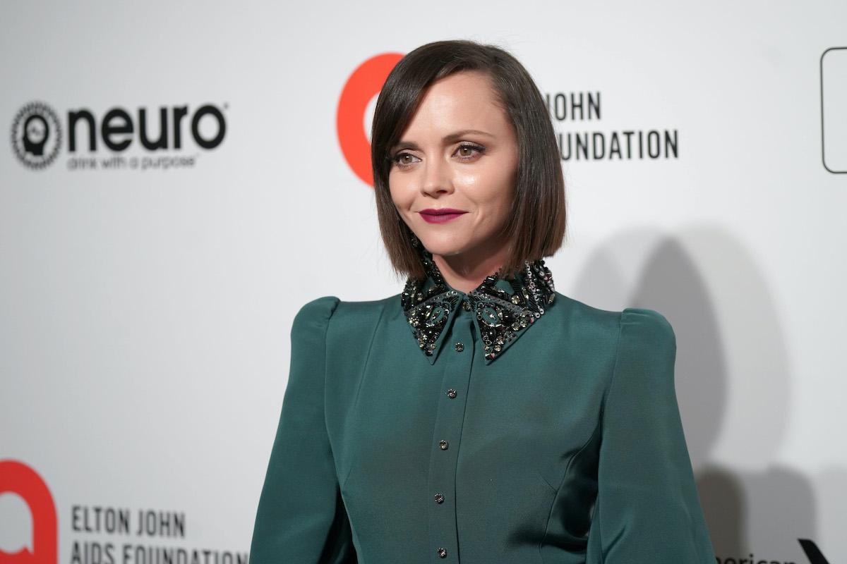 Christina Ricci at the Elton John AIDS Foundation Academy Awards Viewing Party