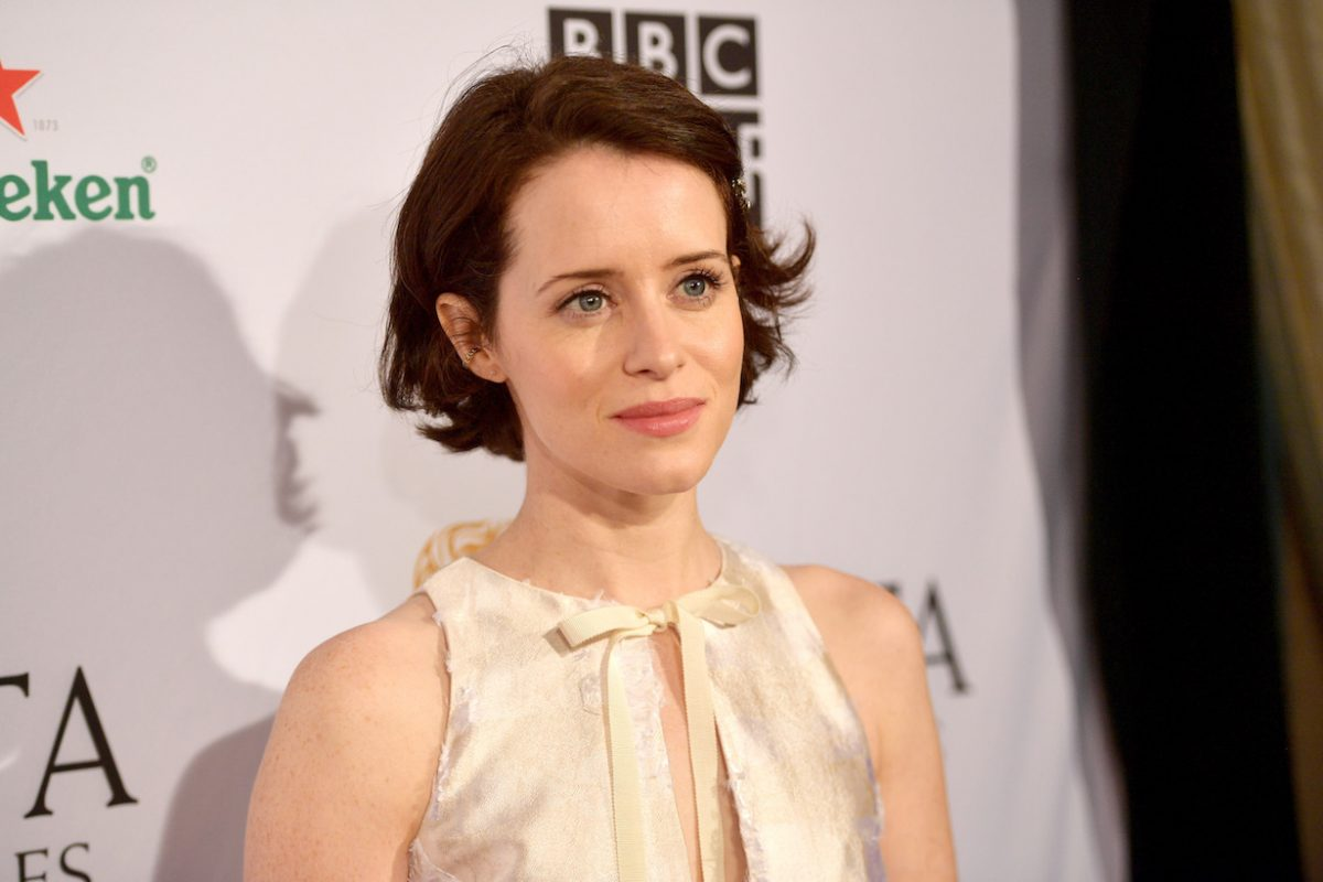 Claire Foy attends the BAFTA Los Angeles Tea Party