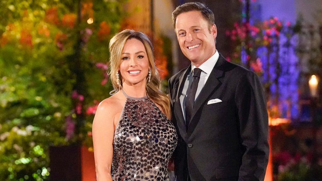 Clare Crawley and Chris Harrison on 'The Bachelorette' Season 16