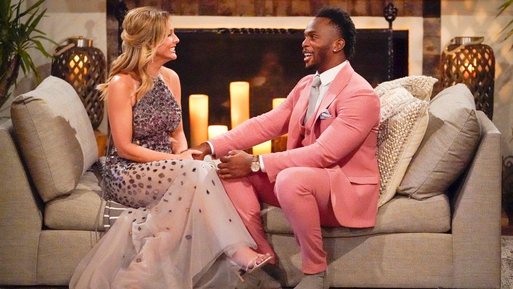 Clare Crawley and Eazy on 'The Bachelorette'