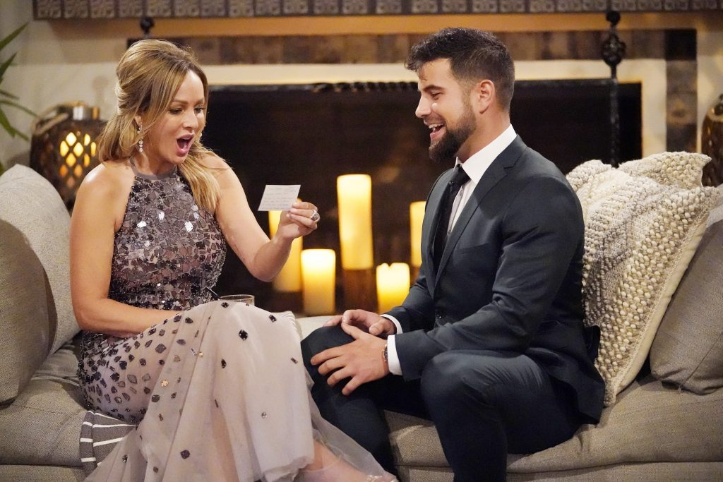 'The Bachelorette' Clare Crawley with Blake Moynes