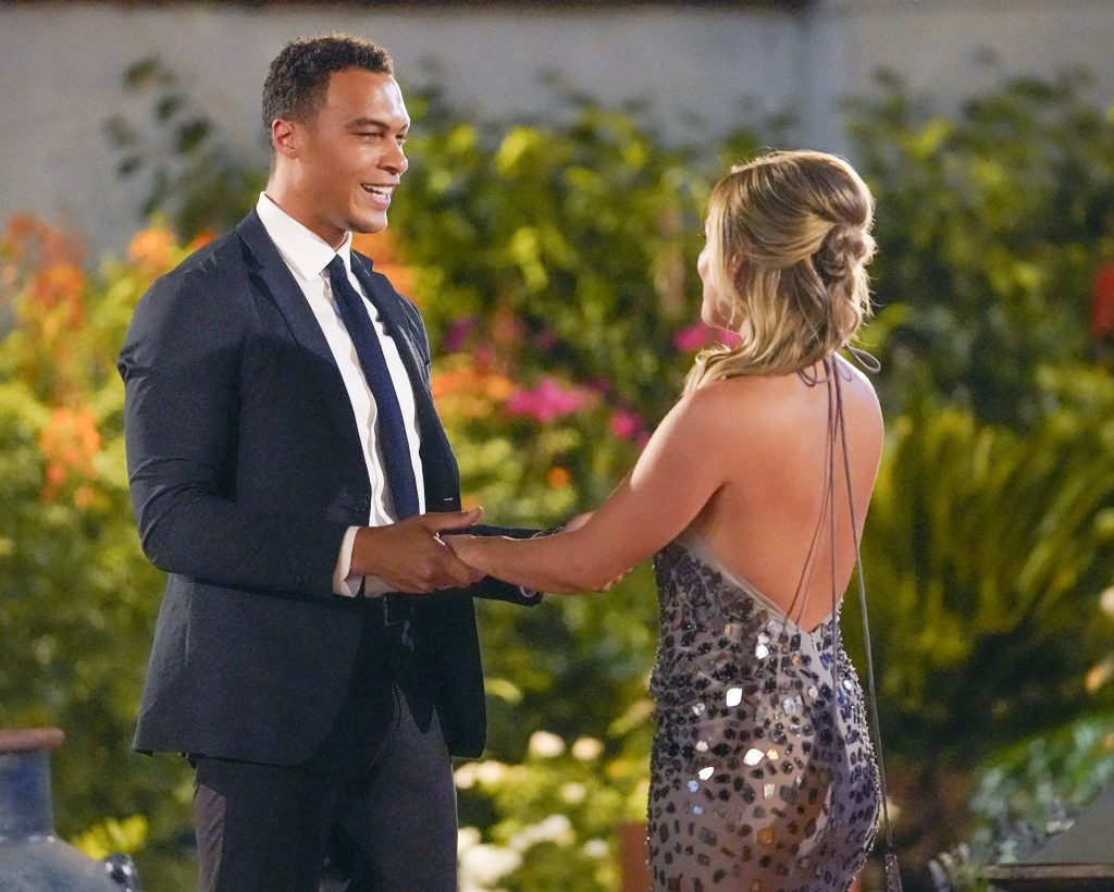 'The Bachelorette' lead Clare Crawley and contestant Dale Moss