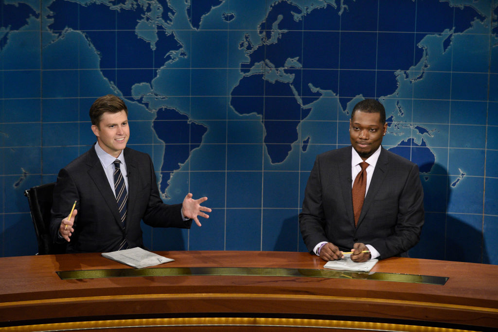 SNL Weekend Update Colin Jost and Michael Che