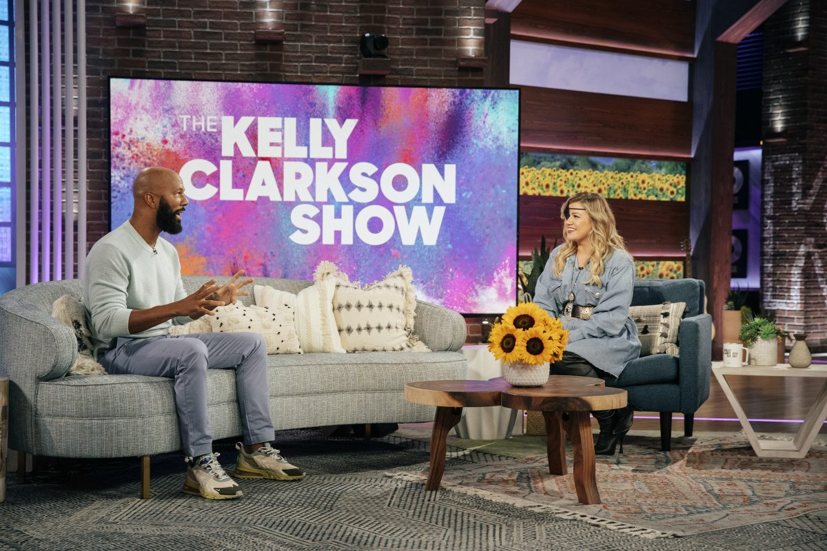 Common and Kelly Clarkson on 'The Kelly Clarkson Show'