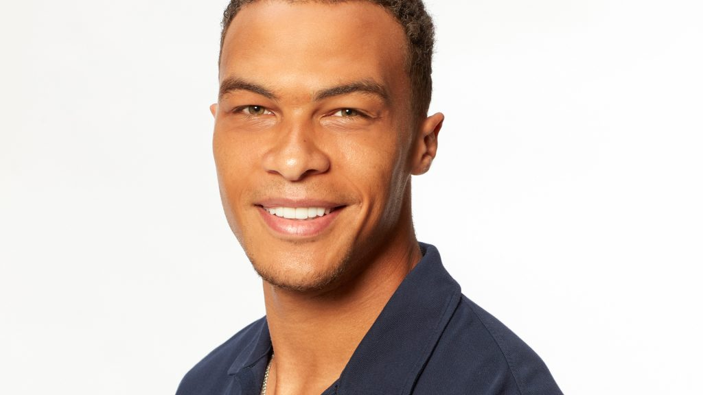 Dale Moss from 'The Bachelorette' Season 16 with Clare Crawley in 2020