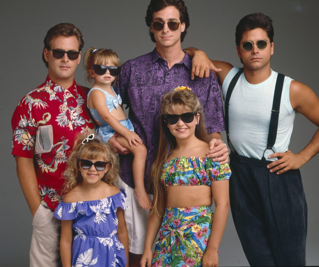 'Full House' stars Dave Coulier, Mary-Kate and Ashley Olsen, Jodie Sweetin, Bob Saget, Candace Cameron and John Stamos