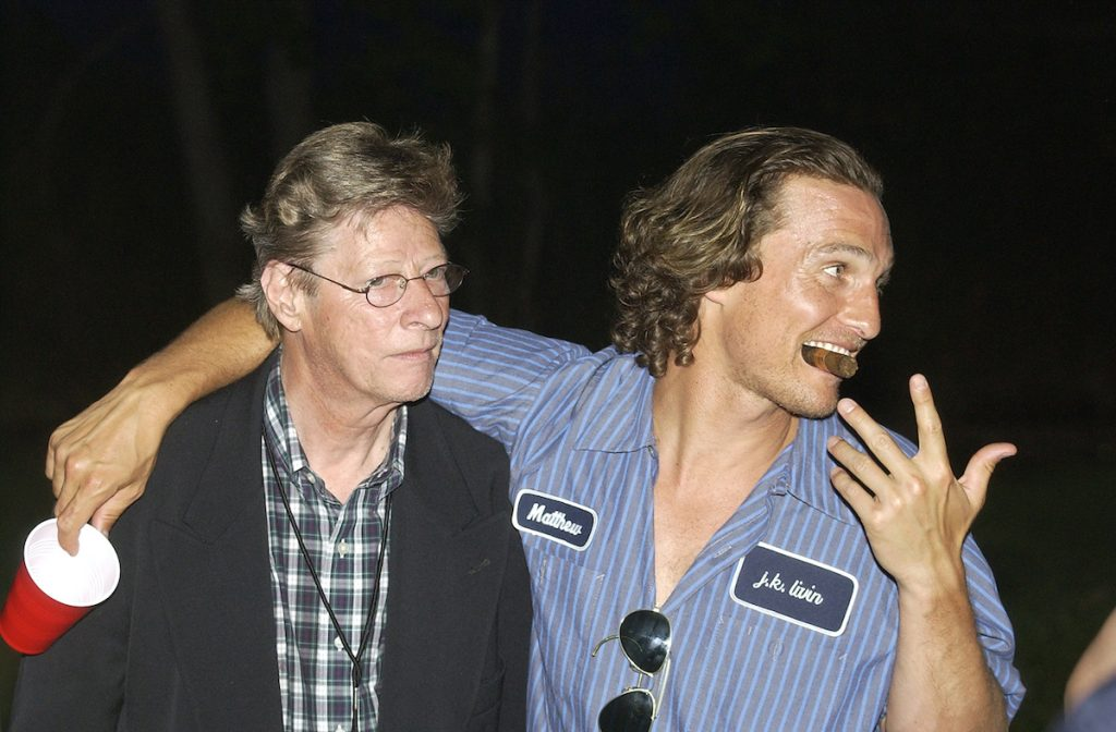 Casting director Don Philips and actor Matthew McConaughy