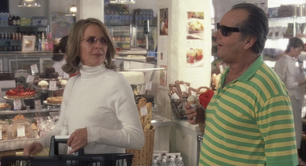 Diane Keaton and Jack Nicholson in 'Something's Gotta Give'