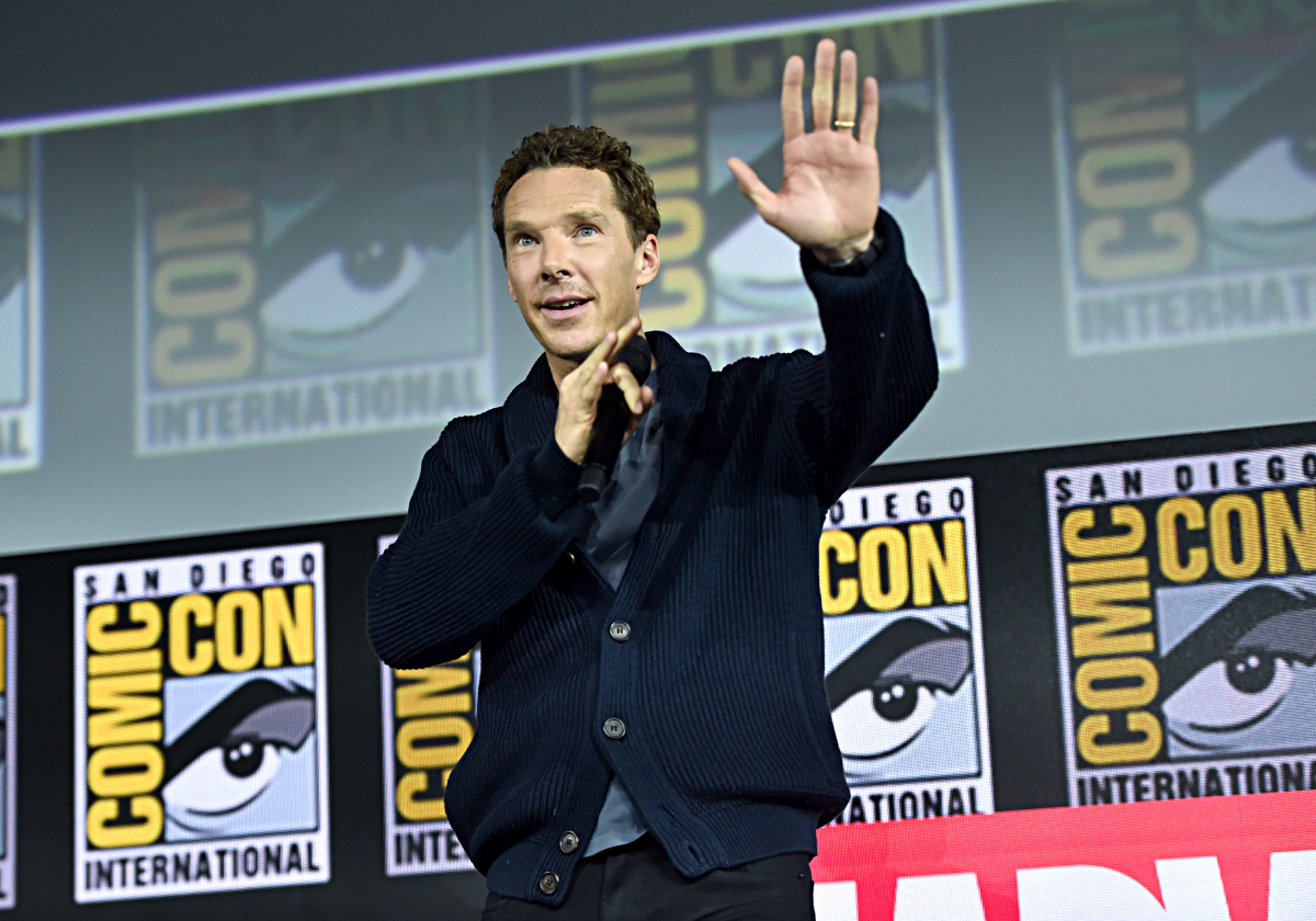 Benedict Cumberbatch of Marvel Studios' 'Doctor Strange in the Multiverse of Madness' at the San Diego Comic-Con International 2019