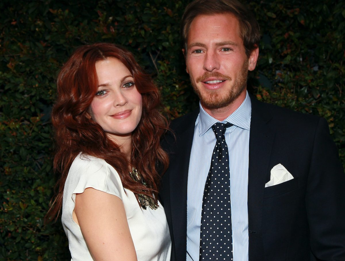 Drew Barrymore and Will Kopelman attend a benefit dinner for the Natural Resources Defense Council's Ocean Initiative