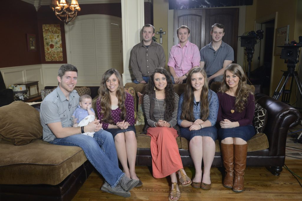 Michelle and Jim Bob Duggar's older children