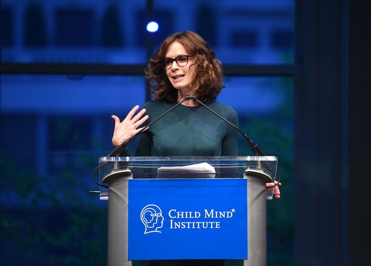 Elizabeth Vargas speaks on stage during the Child Mind Institute's 2019 Change Maker Awards