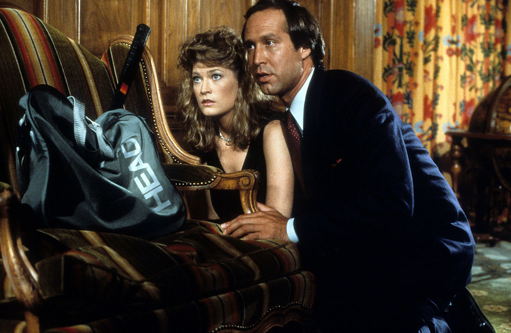 Fletch cast Chevy Chase and Dana Wheeler Nicholson