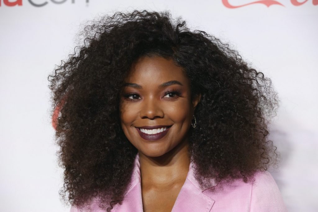 """Recipient of the """"Breakthrough Producer of the Year"""" award actress/producer Gabrielle Union attends the CinemaCon Big Screen Achievement Awards 