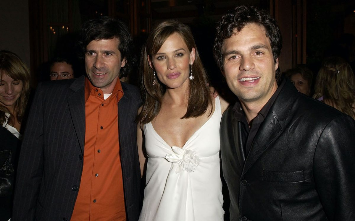 Gary Winick, Jennifer Garner, and Mark Ruffalo at the '13 Going on 30' premiere after party
