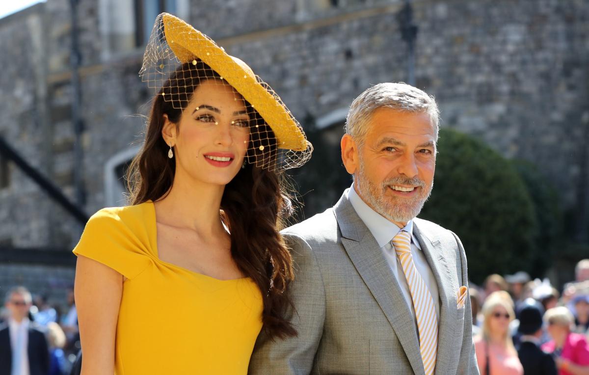 George Clooney Harry Meghan wedding