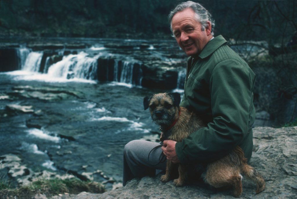 James Herriot, veterinarian and author of 'All Creatures Great and Small'