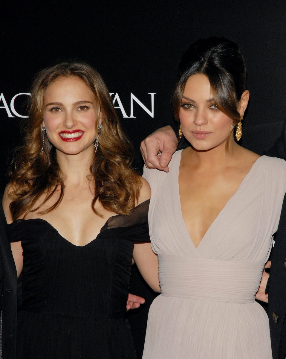 Natalie Portman and Mila Kunis attend the New York Premiere of 'Black Swan' at the Ziegfeld Theatre on November 30, 2010 in New York City