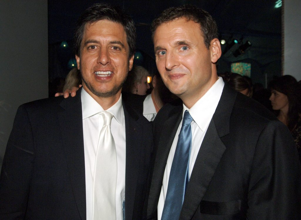 Ray Romano, left, and 'Everybody Loves Raymond' creator Phil Rosenthal, host of Netflix's 'Somebody Feed Phil'
