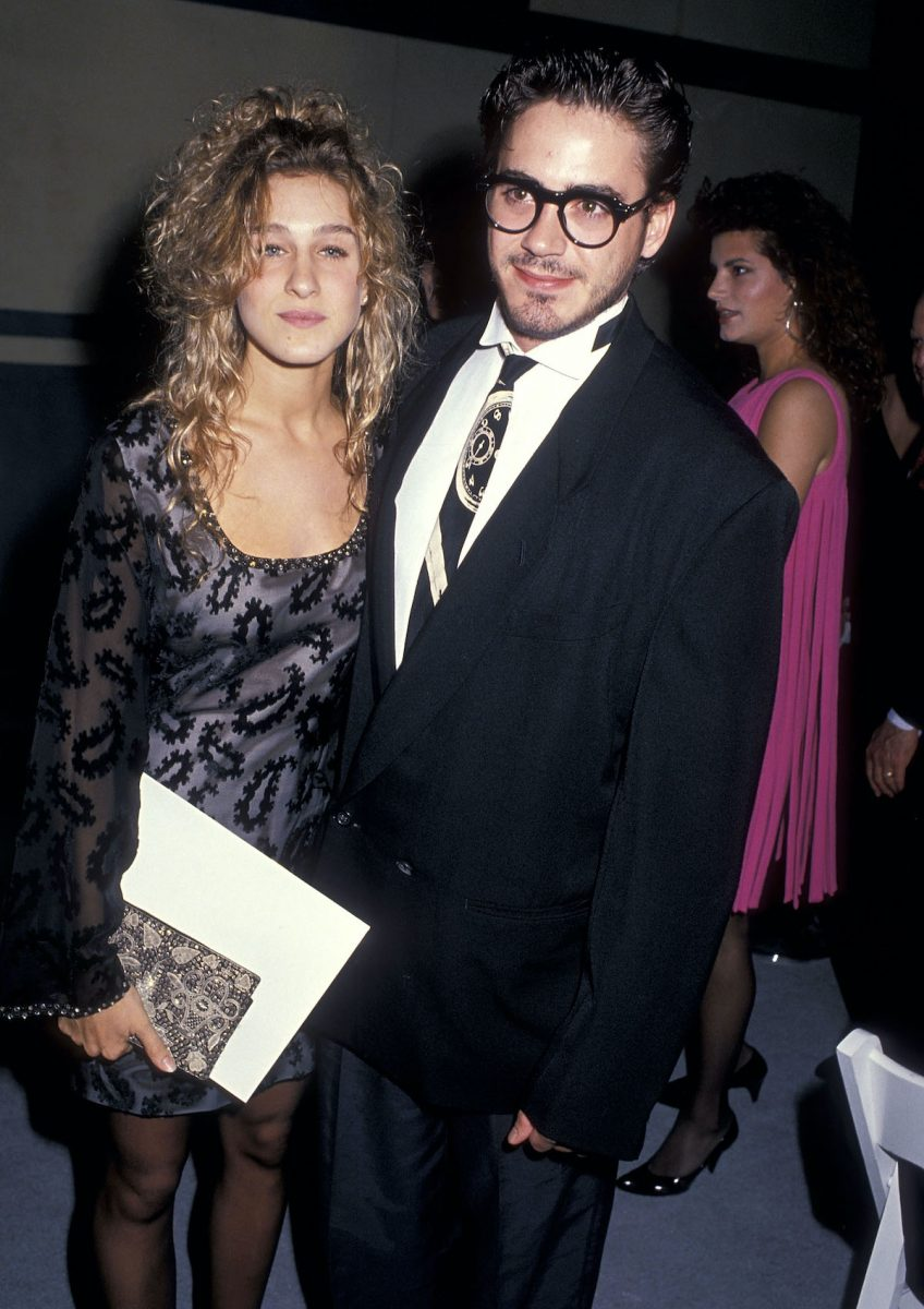 Sarah Jessica Parker and Robert Downey, Jr.