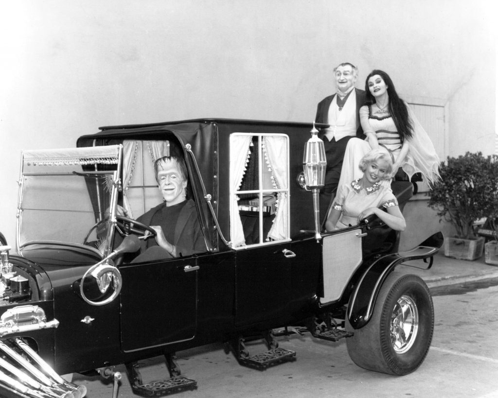 The cast of 'The Munsters'