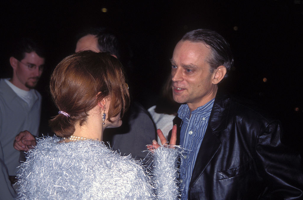 Gillian Anderson and Brad Dourif, cast of The X-Files