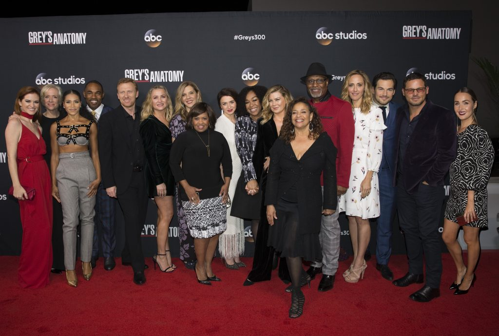 'Grey's Anatomy' Cast and Executive producers