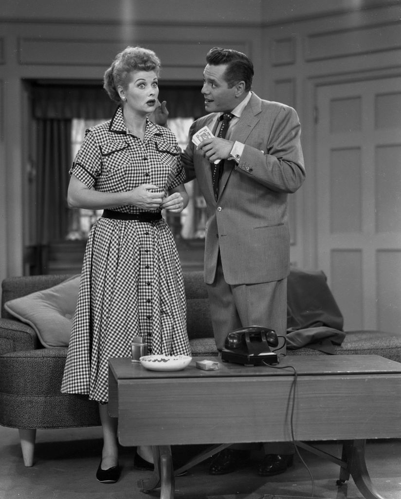 I Love Lucy cast Lucille Ball and Desi Arnaz