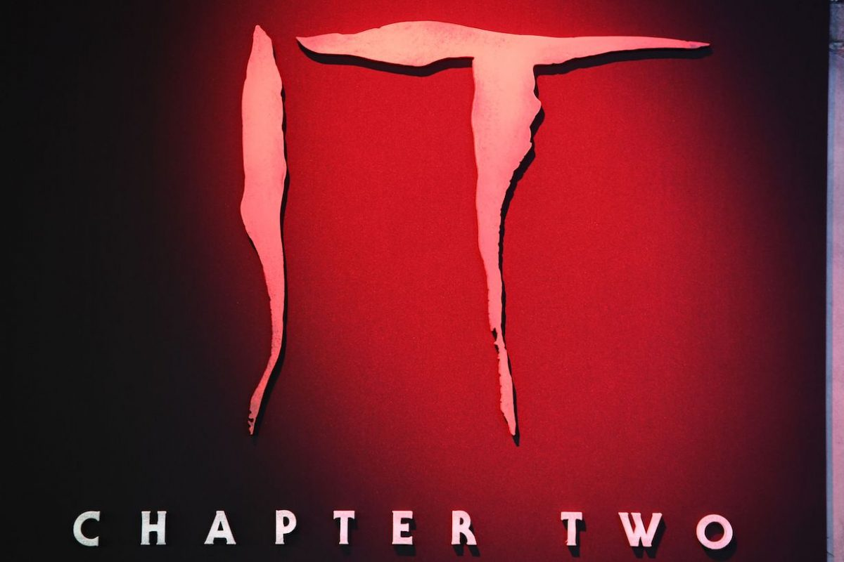 """Posters are shown on the red carpet ahead of the World premiere of """"It Chapter Two"""""""