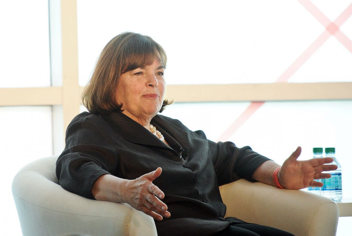 Ina Garten speaks at the 2015 Forbes Women's Summit Transforming The Rules of Engagement