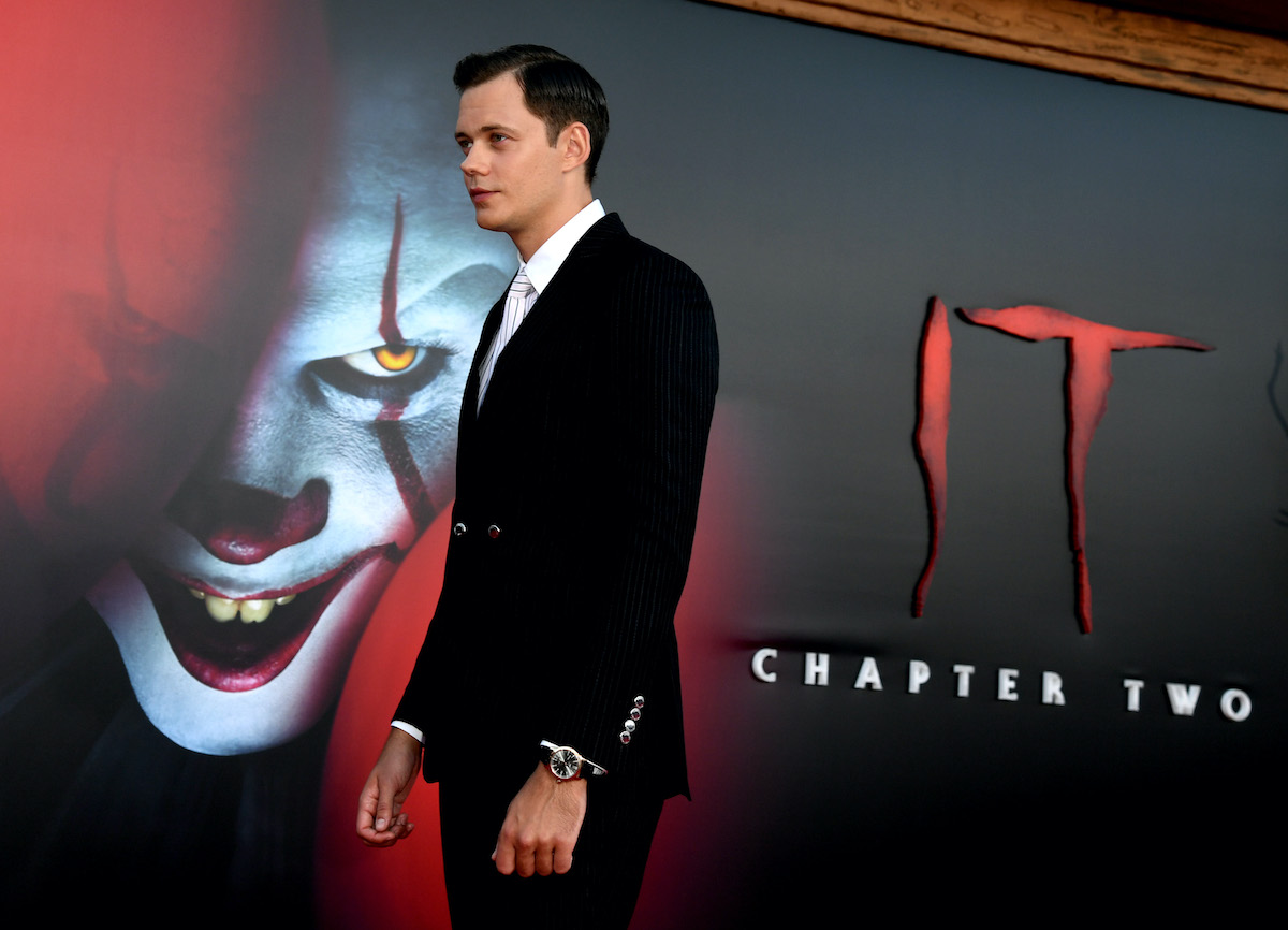 Bill Skarsgård at the 'It: Chapter Two' premiere
