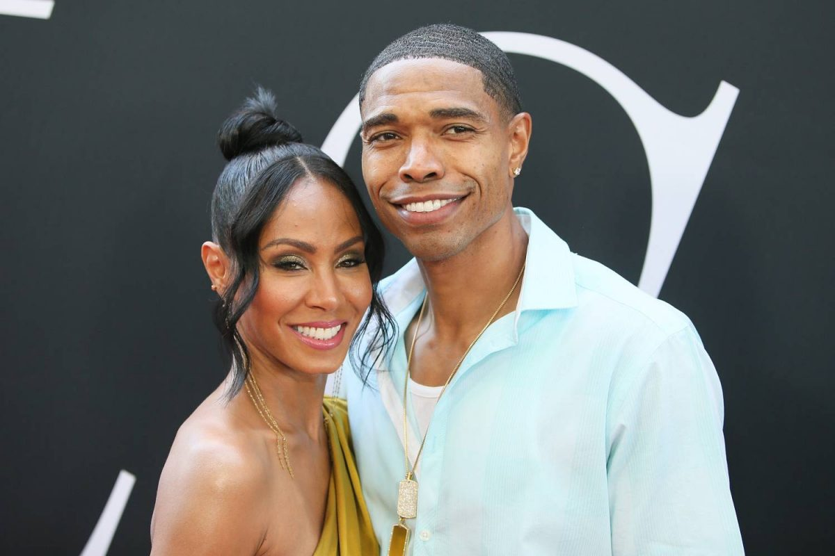 """Actress Jada Pinkett Smith and her brother Caleeb Pinkett attend the premiere of Universal Pictures' """"Girls Trip"""" at Regal LA Live Stadium 14 on July 13, 2017 in Los Angeles, California."""