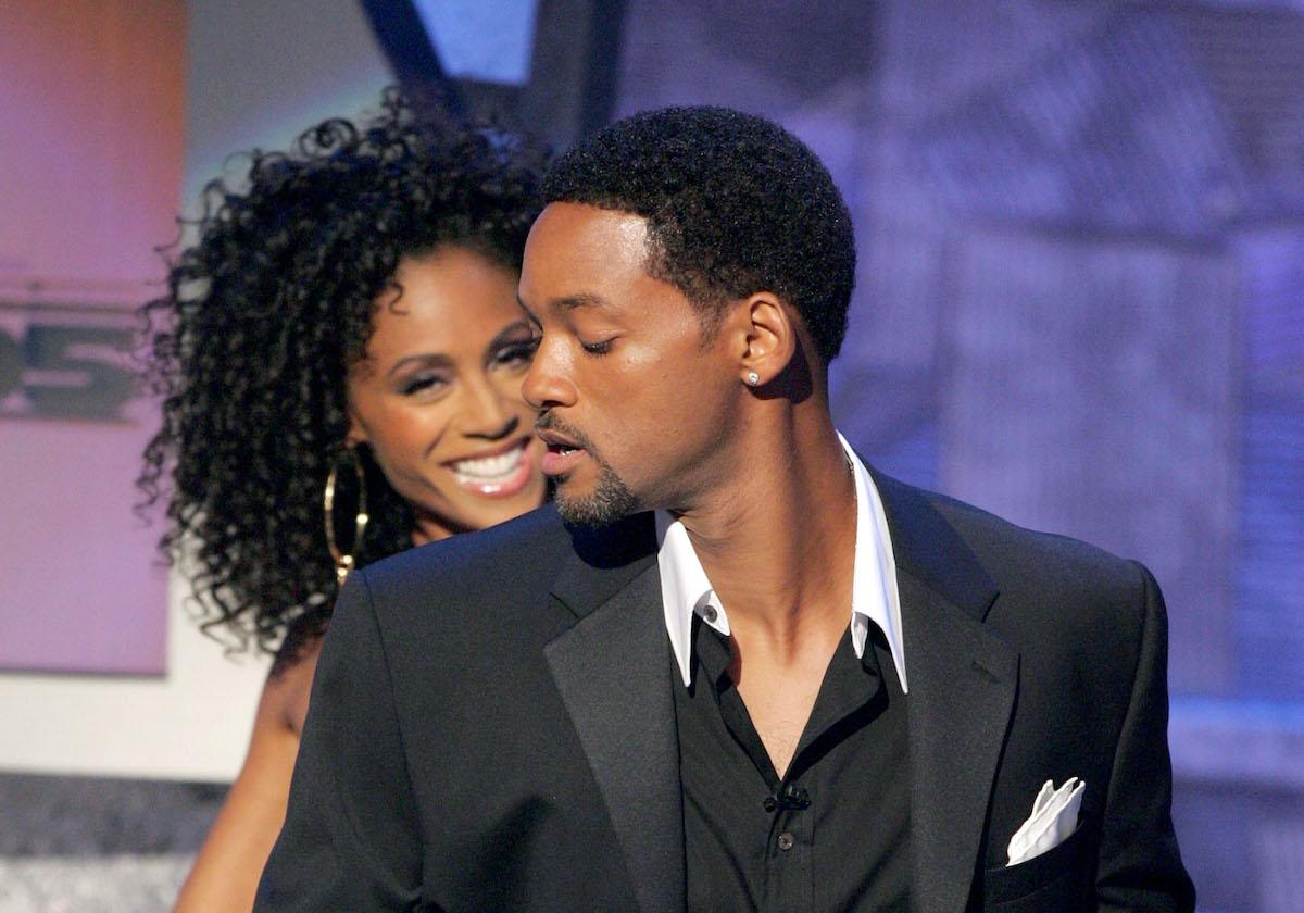 Will and Jada Pinkett Smith at the BET Awards