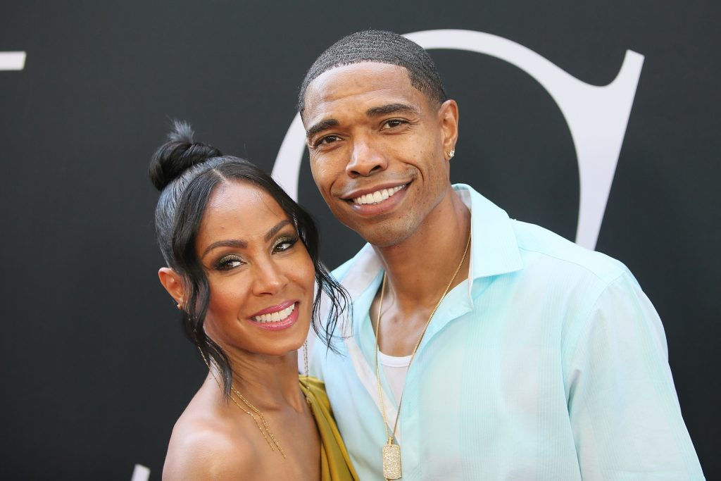 Jada Pinkett Smith and her brother, Caleeb Pinkett