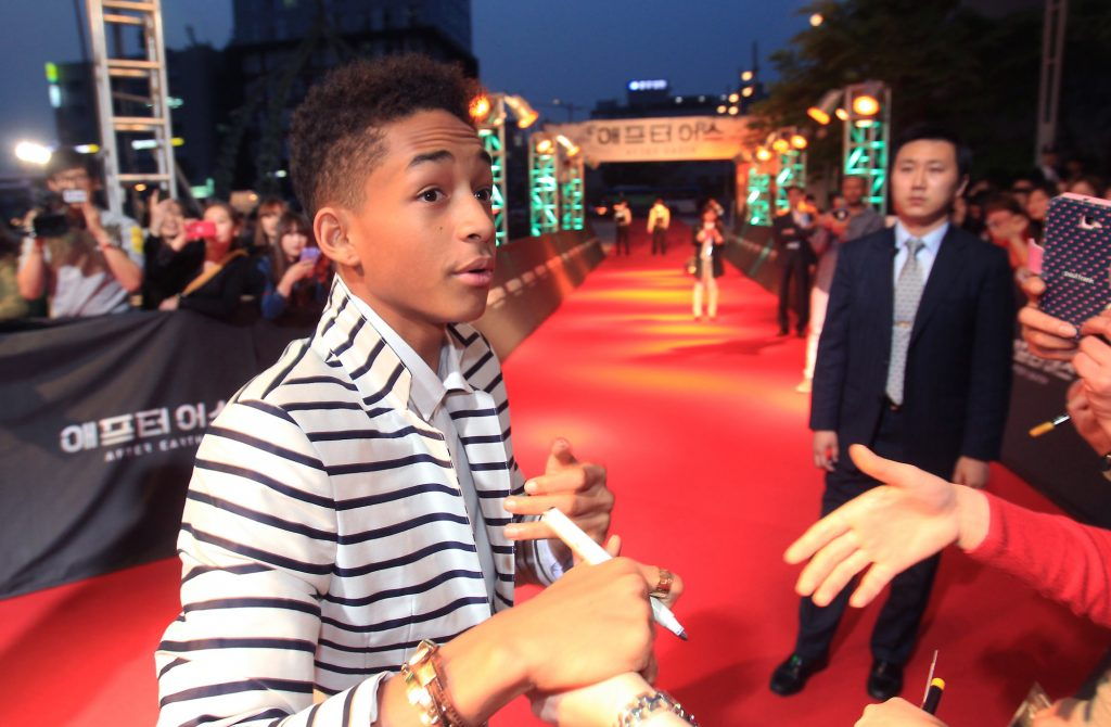 Will Smith and Jaden Smith attend the 'After Earth' South Korea Premiere