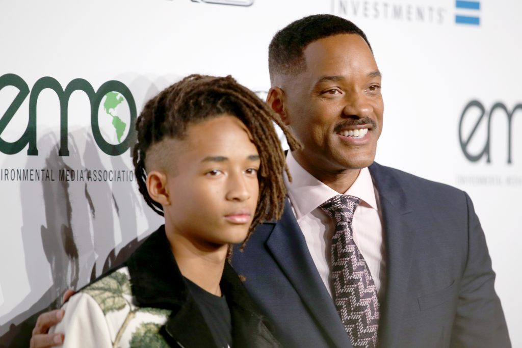 Jaden Smith and Will Smith